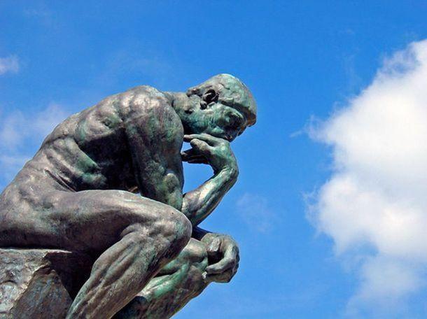 """""""Le Penseur"""", Auguste Rodin"""