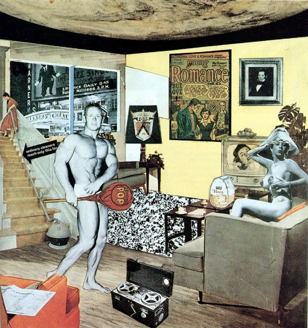 Just what is it that makes today's homes so different, so appealing, Richard Hamilton