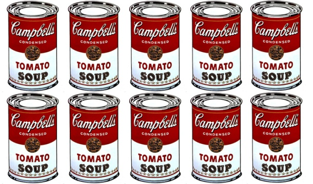 Soupe Campbell, Andy Warhol