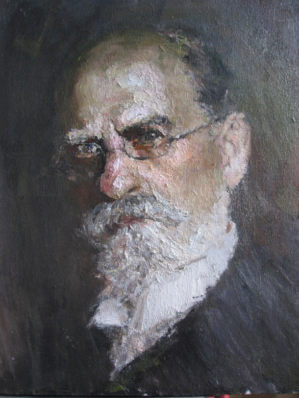Portrait d'Edmund Husserl