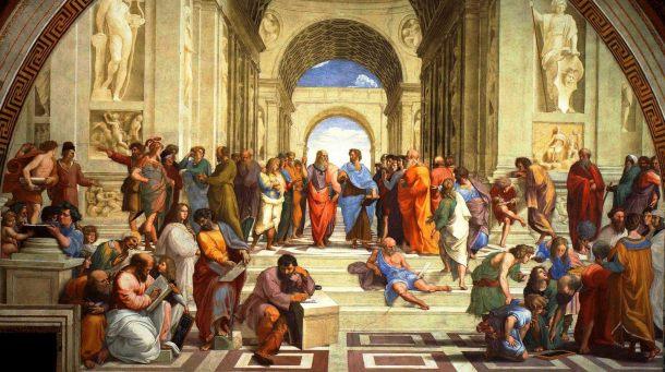 L'Ecole d'Athènes, Raphaël