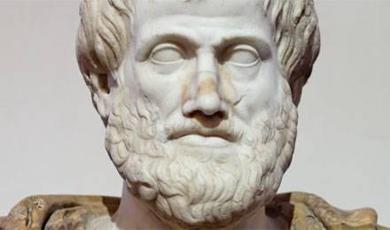 Buste d'Aristote (détail)