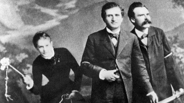 Lou Salomé, Paul Rée, Friedrich Nietzsche