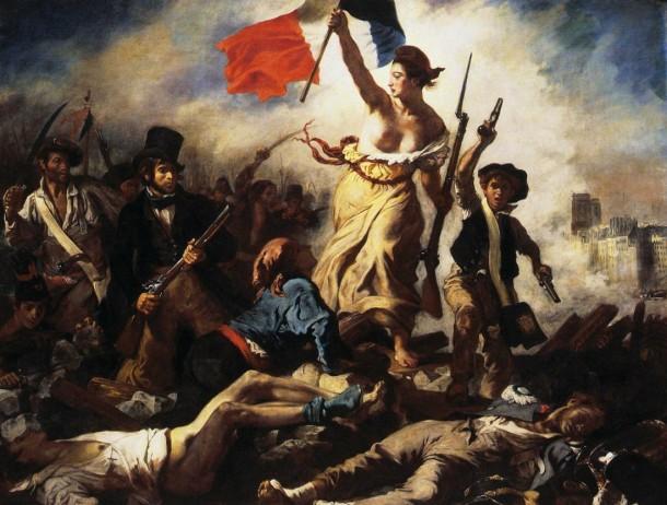 La Liberté guidant le peuple, Eugène Delacroix