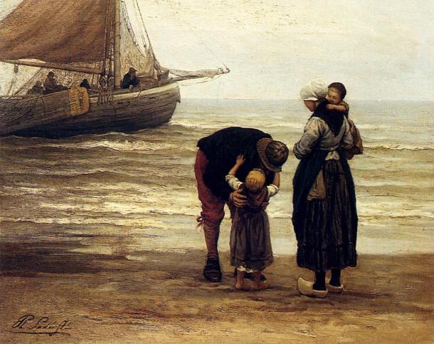 Sadee Philippe A Fishermans Goodbye, Philippe Lodowyck Jacob Sadee