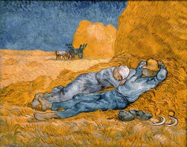 La méridienne ou La sieste, par Vincent Van Gogh