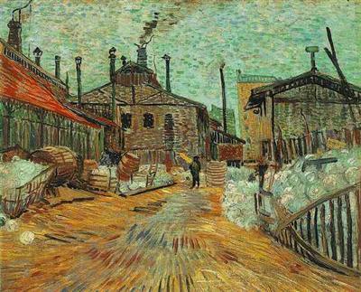 Usine d'Asnières, Vincent Van Gogn