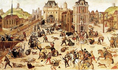 Le Massacre de la Saint-Barthélemy, François Dubois