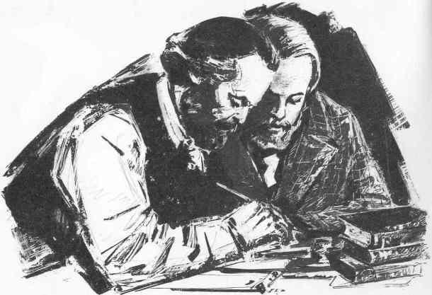 Karl Marx et Friedrich Engels