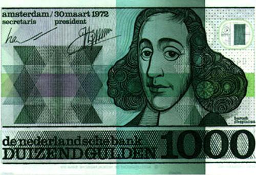 Baruch Spinoza (billet néerlandais)