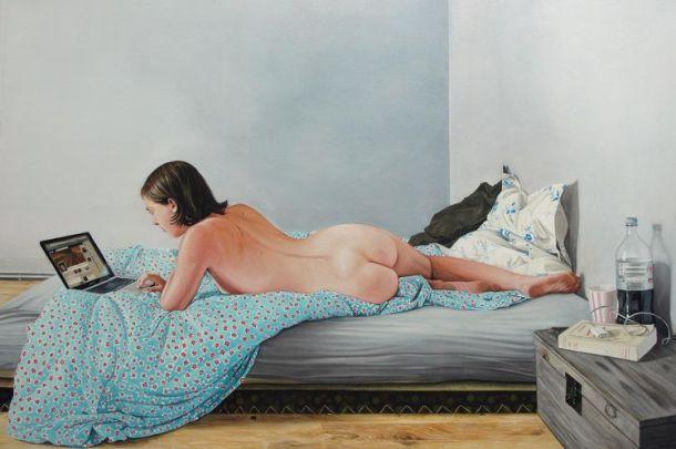«Laetitia au lit» (2012) de Thomas Lévy-Lasne
