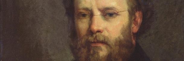 Portrait de Proudhon par Gustave Courbet