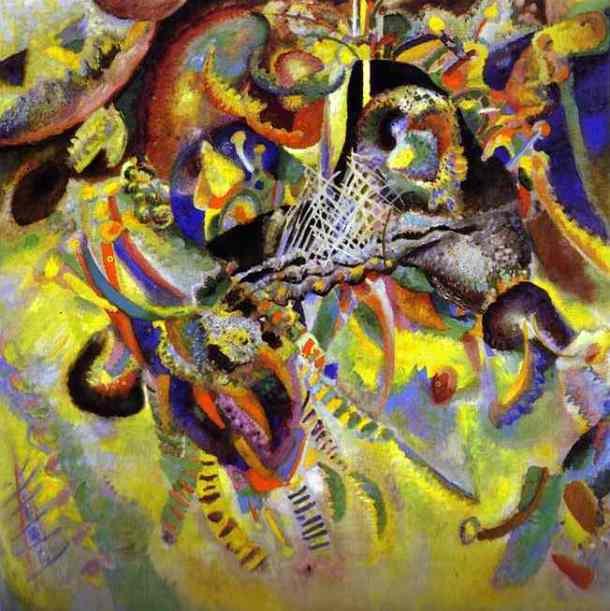 """""""Fugue"""", Vassily Kandinsky (1914)"""