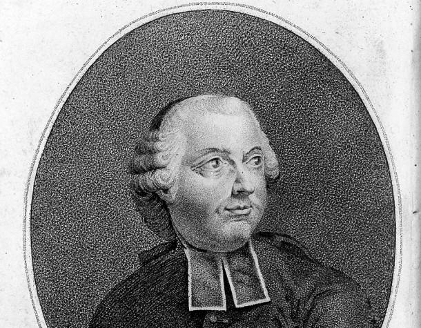 Portrait d'E.B. de Condillac (1798)
