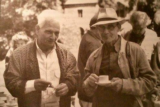 Jean-Luc Nancy et Jacques Derrida