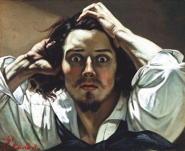 Gustave Courbet, Le Désespéré (1843)