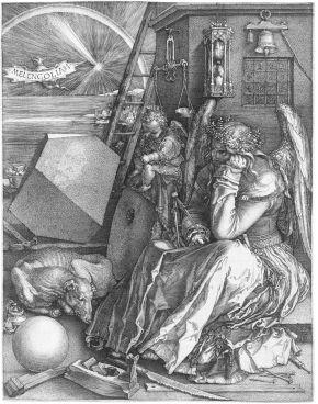 « Melencolia I » de Dürer et la mélancolie chez lesGrecs