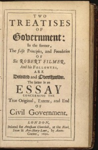 Two Treatises of Government, par John Locke