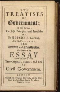 Two Treatises of Government, par John Locke