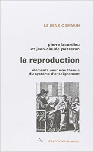 """La reproduction"", Pierre Bourdieu (Minuit)"