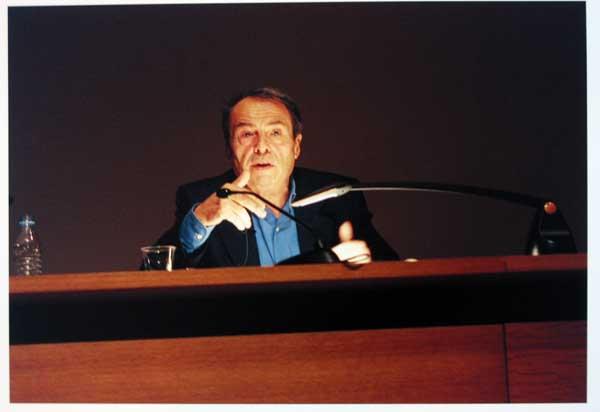 Pierre Bourdieu, au Collège de France